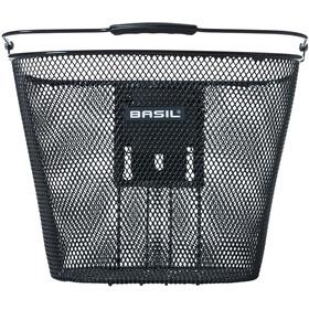 Basil Bremen Forhjulskurv med Ahead-frempindsholder Klickfix, black